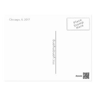Chicago 2017 postcard