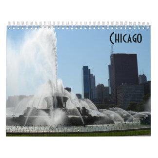 Chicago 2018 calendar