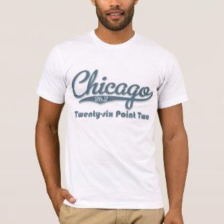 Chicago 26.2 Blue Marathon T shirt