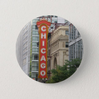 Chicago 6 Cm Round Badge