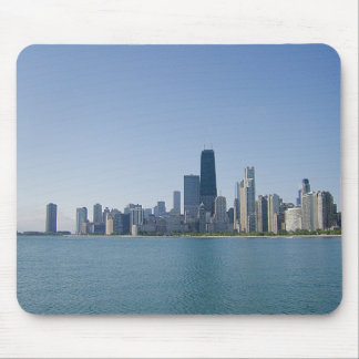 Chicago Across The Lake Mouse Pad