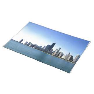 Chicago Across the Lake Placemat