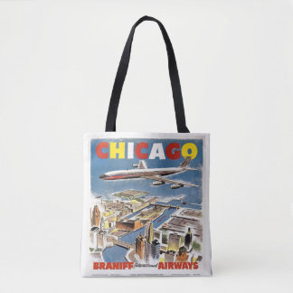 Chicago Barniff Airways  Travel Tote vintage bag