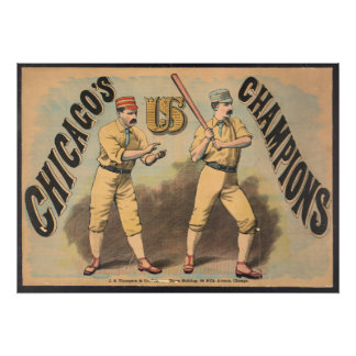 Chicago Baseball Team Photo Print