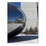 Chicago Bean and Skyscaper Postcard
