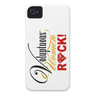 """CHICAGO BLING - """"Voluptuous Women Rock!"""" iPhone 4 Covers"""