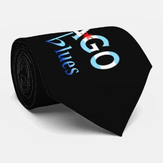 Chicago Blues, Chicago Flag Design Tie