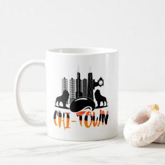 Chicago Chi-Town Cityscape Coffee Mug