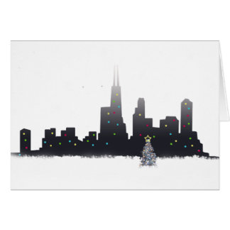 Chicago City Christmas Card