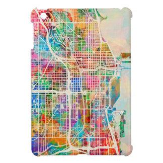 Chicago City Street Map iPad Mini Cover