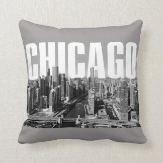 Chicago Cityscape Cushion