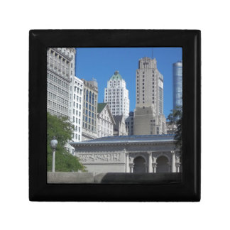 Chicago cityscape gift box