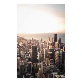 Chicago cityscape stationery