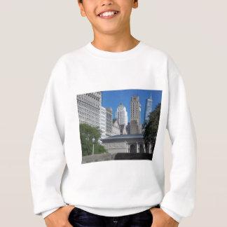 Chicago cityscape sweatshirt