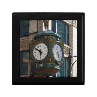 Chicago Clock Small Square Gift Box