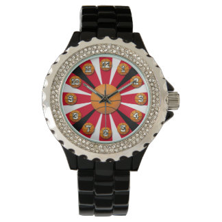Chicago Colors Basketball Time Wristwatches