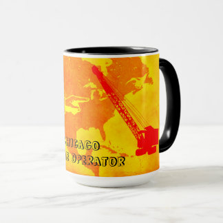 CHICAGO CRANE OPERATOR SOUTHWEST COLORS OPERATOR MUG