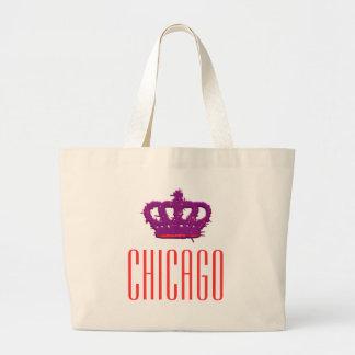 Chicago Crown Jumbo Tote Bag