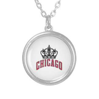 Chicago Crown Necklace