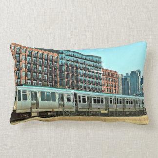 Chicago EL Pillow
