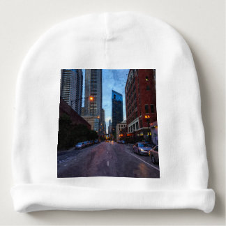 Chicago Evening Drive Baby Beanie