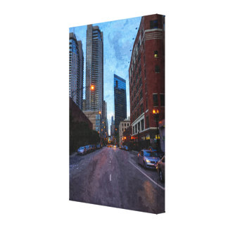 Chicago Evening Drive Canvas Print