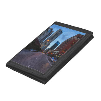 Chicago Evening Drive Trifold Wallet