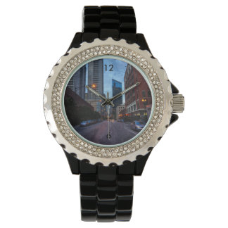 Chicago Evening Drive Wrist Watches