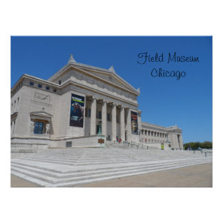 Chicago Field Museum Poster
