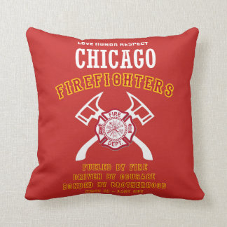 Chicago Firefighters Cushion