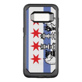 Chicago Flag Chess OtterBox Commuter Samsung Galaxy S8 Case