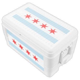 Chicago Flag Ice Chest