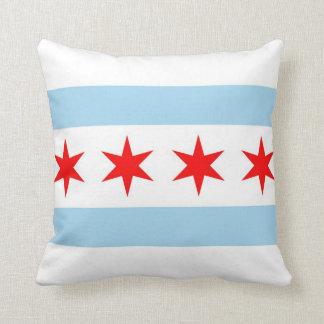 Chicago Flag, Illinois American MoJo Pillow
