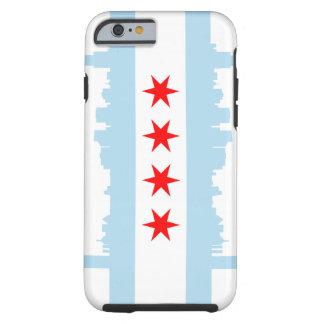 Chicago Flag iPhone 6 Tough™ Tough iPhone 6 Case