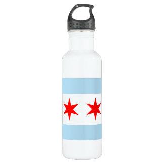 Chicago Flag Liberty Bottle