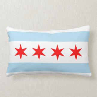 Chicago Flag Lumbar Cushion
