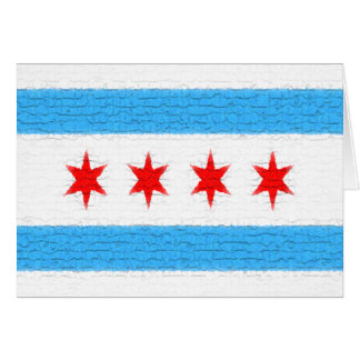 Chicago Flag Note Card