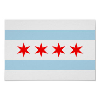 Chicago Flag Posters