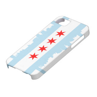Chicago Flag Skyline Case-Mate iPhone 5 Case For The iPhone 5