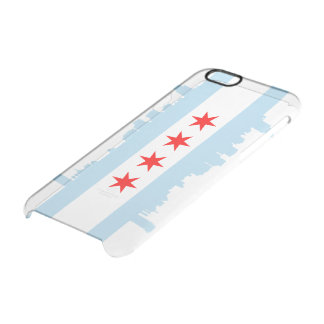 Chicago Flag Skyline Clear iPhone 6/6S Case