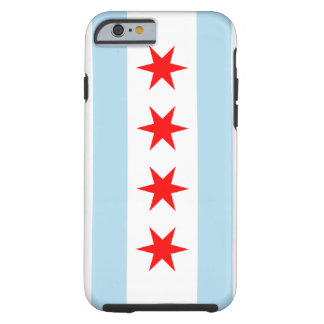 Chicago Flag Tough iPhone 6 Case