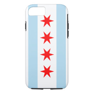 Chicago Flag Tough iPhone 7 case