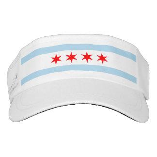Chicago Flag Visor