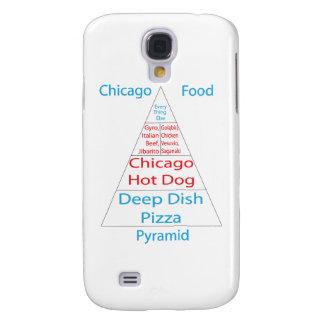 Chicago Food Pyramid Samsung Galaxy S4 Cases