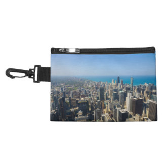 Chicago From Above Accessory Bags