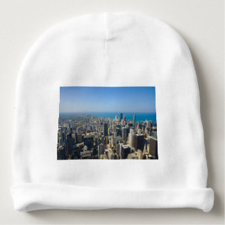 Chicago From Above Baby Beanie