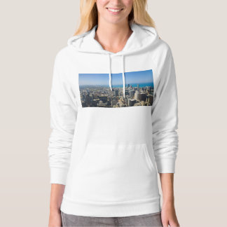 Chicago From Above Hoodie