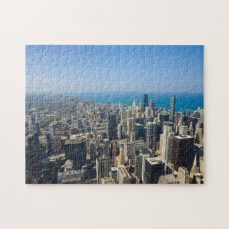 Chicago From Above Jigsaw Puzzle
