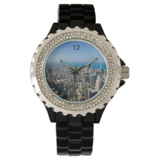 Chicago From Above Wristwatches