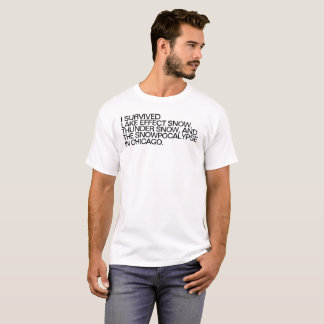 Chicago Funny Snow T-Shirt
